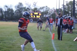 Cougars Fall in Homecoming Game