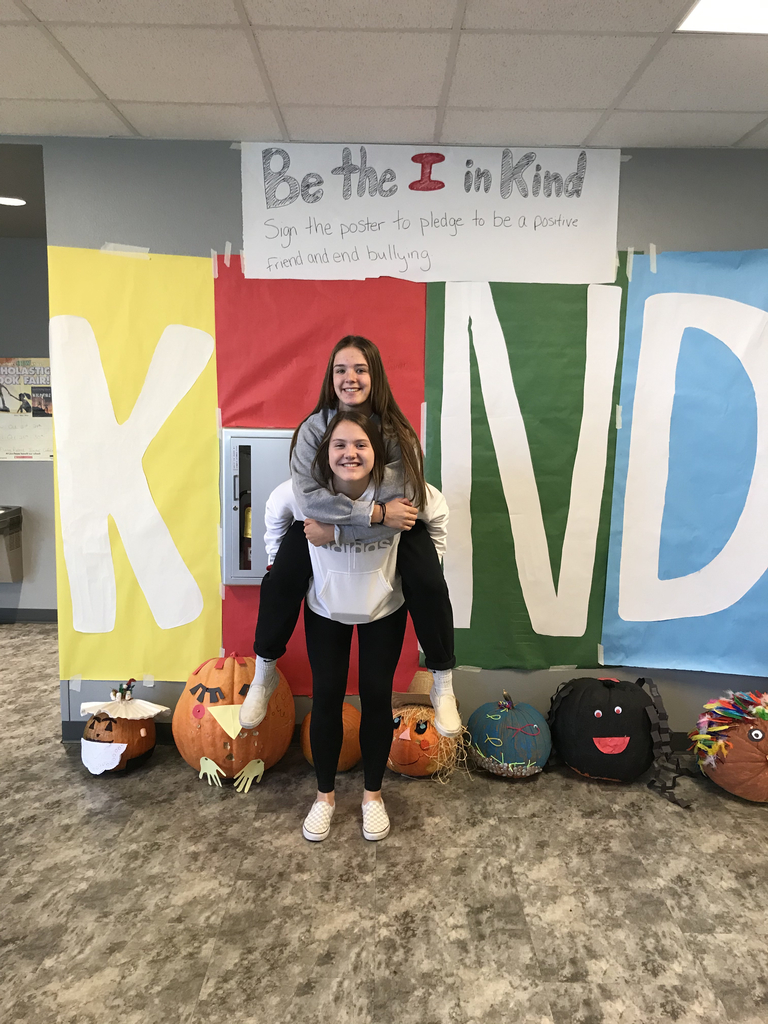 "Students being the ""I"" in KIND"