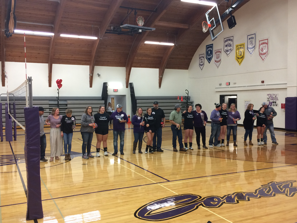Senior VB and Parents